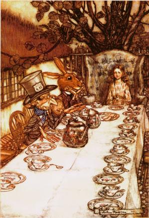 Mad Tea Party - Arthur Rackham