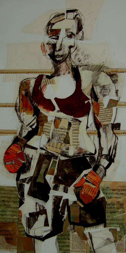 Ottawa artist Sherry Tompalski's Female Boxer